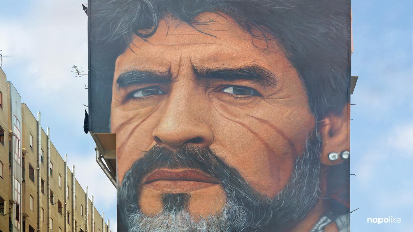 Murales Di Maradona Di Jorit A San Giovanni A Teduccio