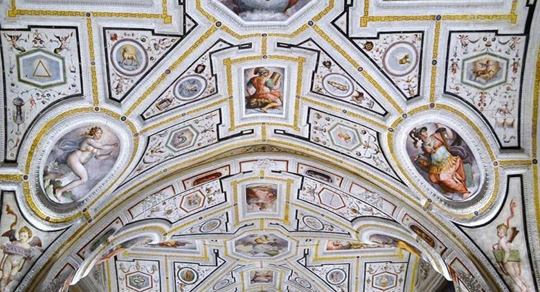 The Chapel of Vasari in the church of Sant'Anna dei Lombardi