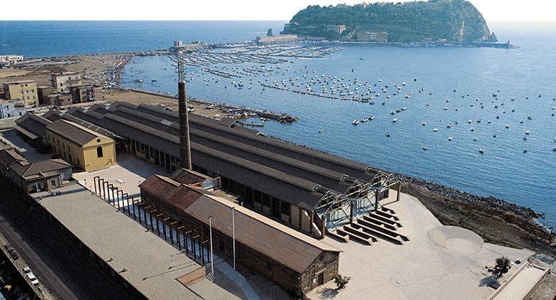 Панорамное фото Città della Scienza в Неаполе