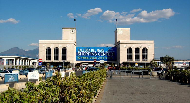 La Galleria del Mare al porto di Napoli
