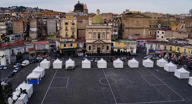 Piazza Mercato à Naples