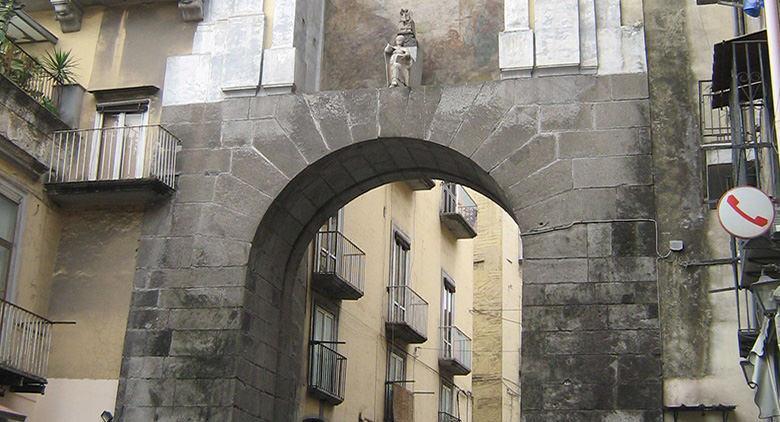 Porta San Gennaro in Naples