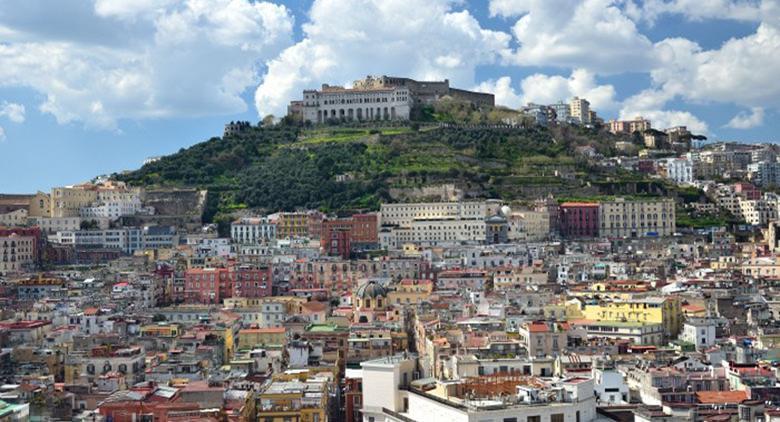 El distrito de Vomero en Nápoles