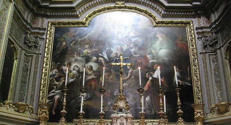 Церковь Сан-Никола-алла-Карита в Неаполе