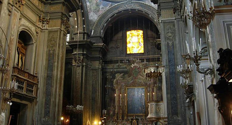 Kirche von Santa Brigida in Neapel