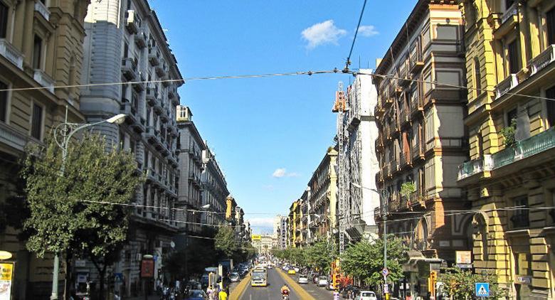 Corso Umberto I à Naples