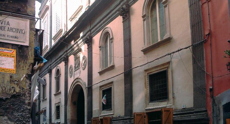 Palazzo Marigliano in Naples