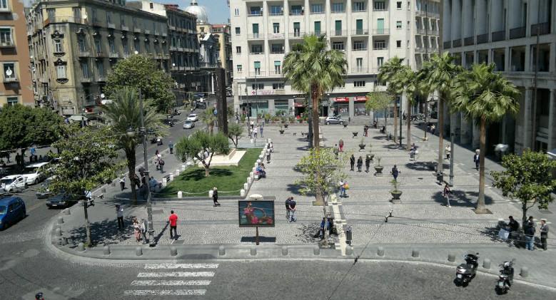 Piazza Carità in Neapel