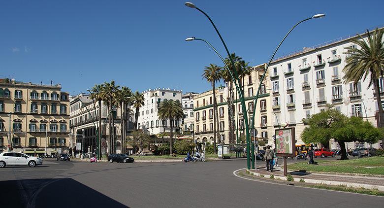 Piazza della Vittoria in Neapel