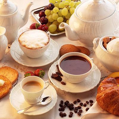 朝食 - イタリア