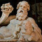 彫像 - ナポリ、ナイル