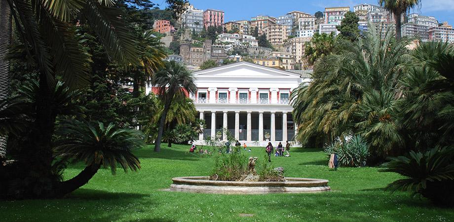 Parc de la Villa Pignatelli à Naples