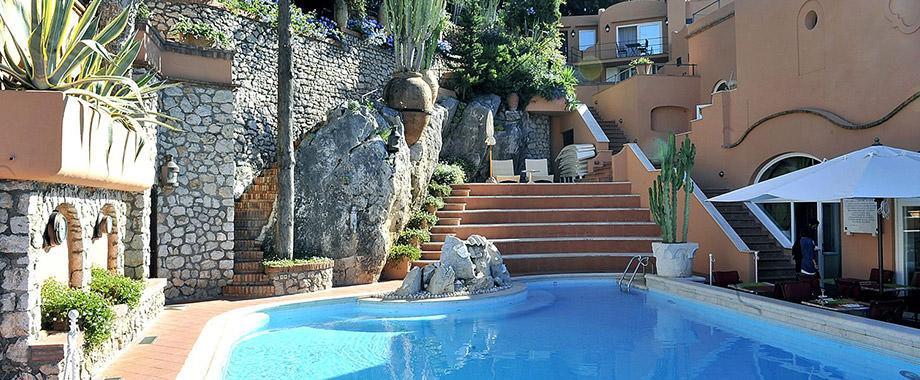 Hotel Punta Tragara in Capri
