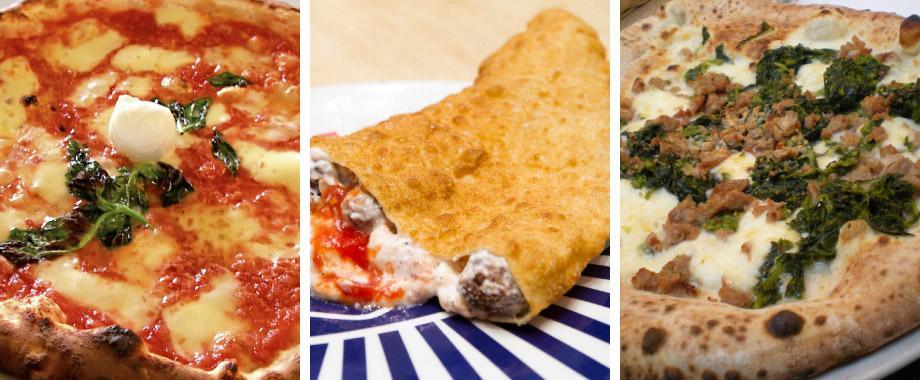 Pizzas napolitanas