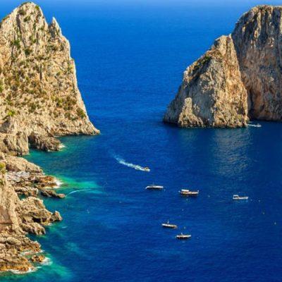 Die Faraglioni in Capri