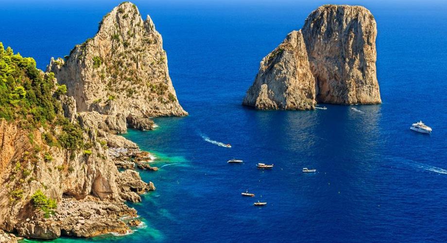 El farallones de Capri