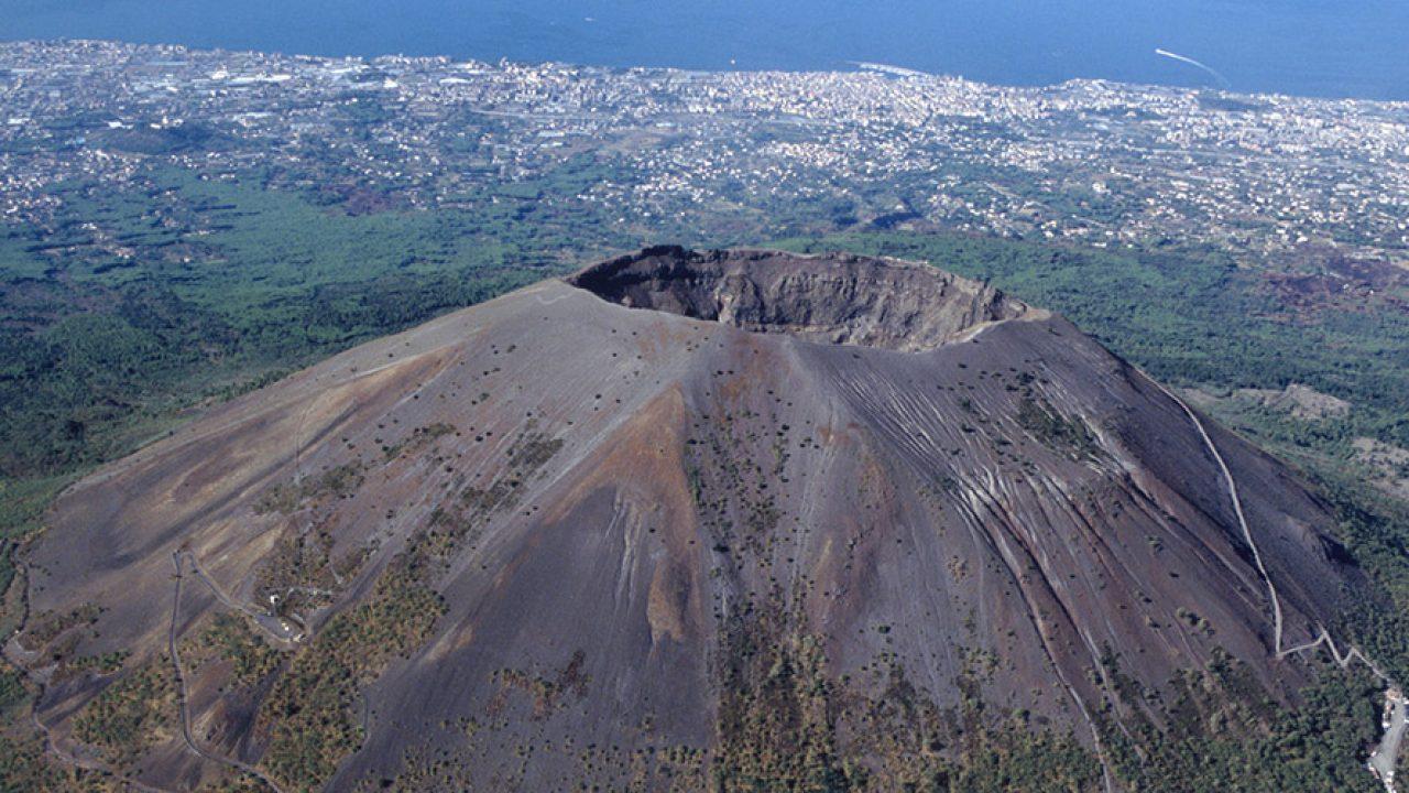 火山 ベスビオス