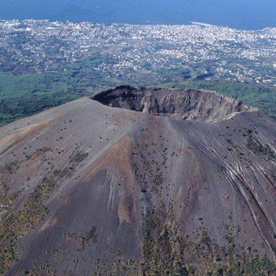 Kegel des Vesuvs