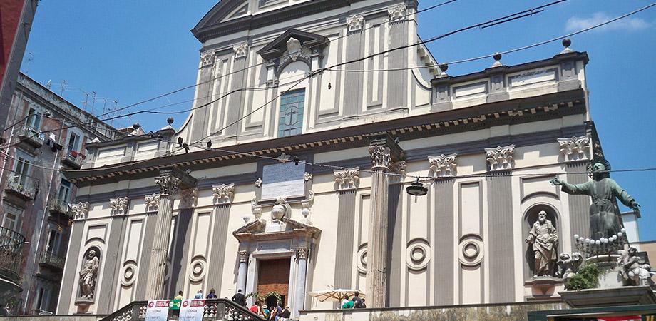 Basilica of San Paolo Maggiore in Naples