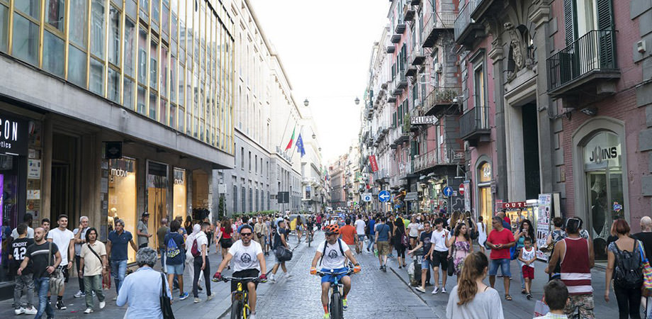 Via Toledo in Naples