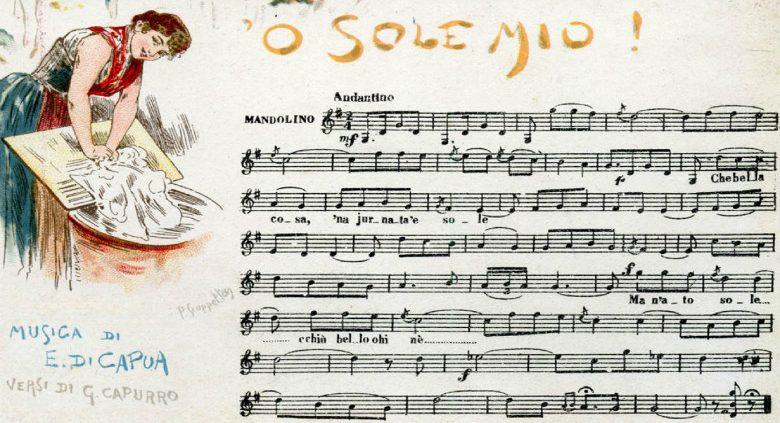 O my sun, score