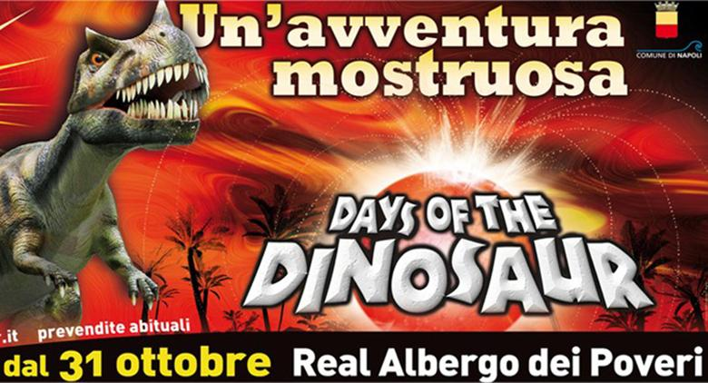 Days of the dinosaur napoli