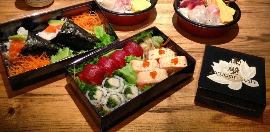 Il sushi di Jorudan a Napoli
