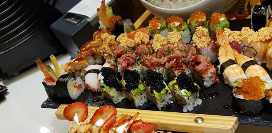 Il sushi di Hachi a Napoli