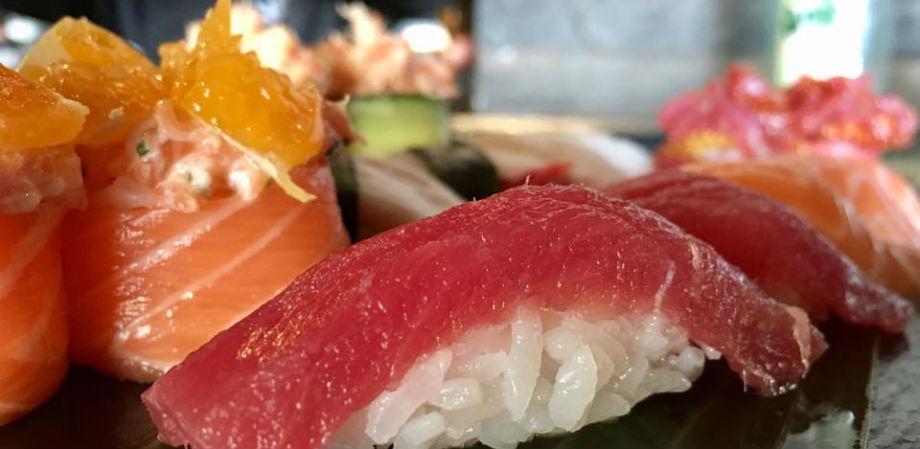 Черные суши