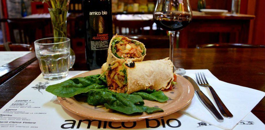 Restaurante vegetariano Friend Bio Napoli