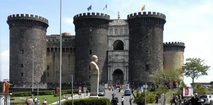 Foto del Maschio Angioino a Napoli