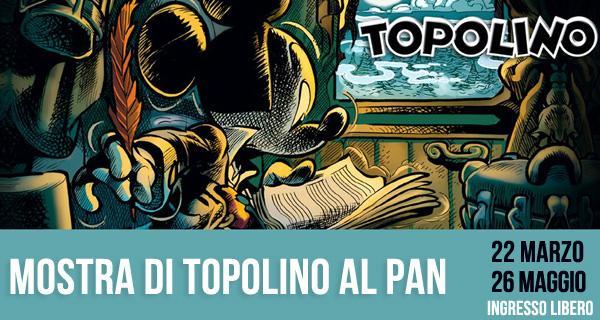 Mostra Topolino al Pan