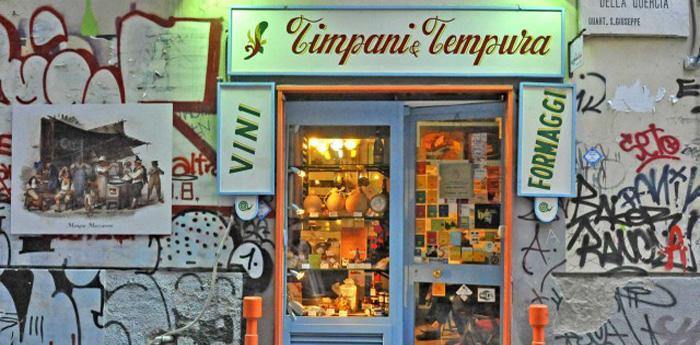 timpani e tempura a napoli