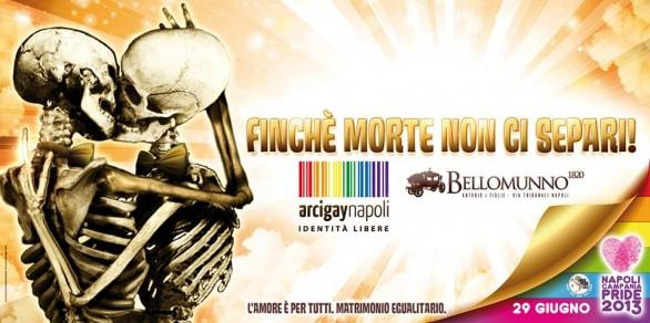 Campagna pubblicità Arcigay Bellomunno