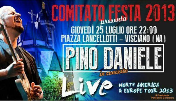Pino Daniele concerto Visciano
