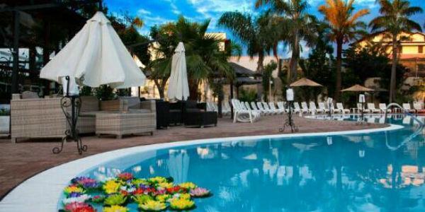 Le piscine del complesso Karibù