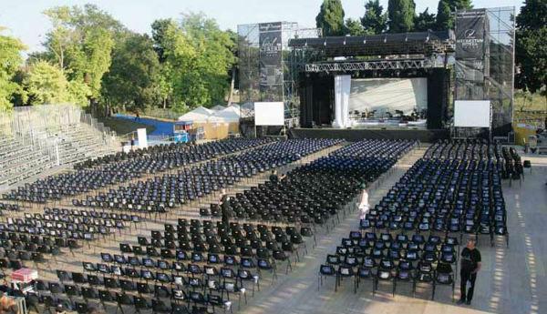 Concerti estate 2013 Teatro dei Templi Paestum