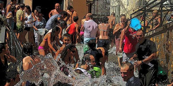 A' Chiena 2013 festa dell'acqua (SA)
