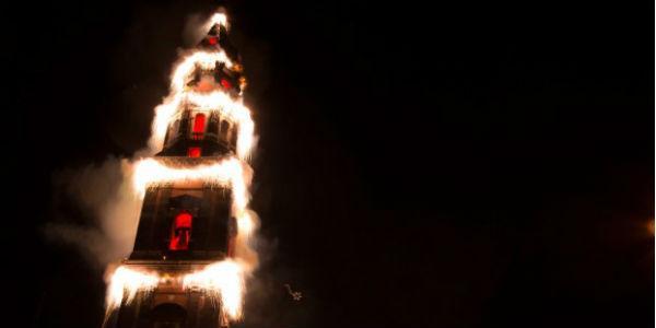 Festa del Carmine Incendio