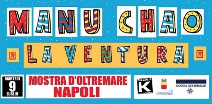 Manu Chao La Ventura Napoli