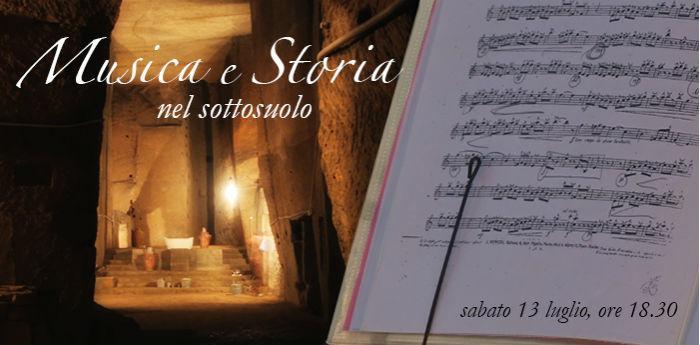Musica e Storia nel Sottosuolo - Museo del Sottosuolo Napoli