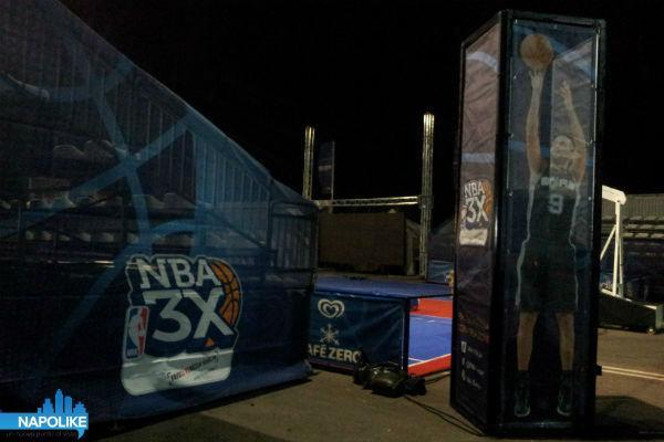 NBA 3X Tour Rotonda Diaz Napoli