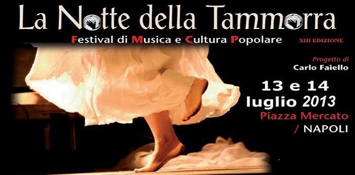 Notte della Tammorra Napoli