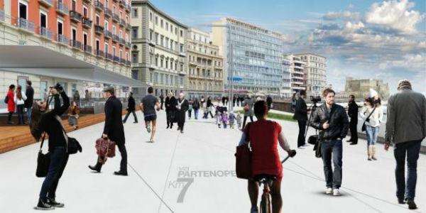 Lungomare Napoli 2015 progetto