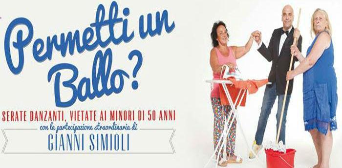 Permetti un ballo Gianni Simioli Napoli
