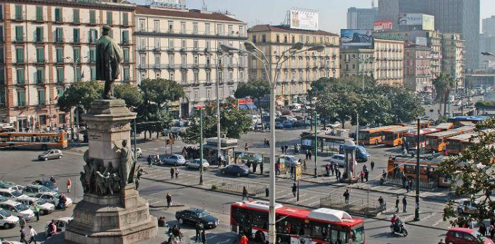 Napoli Piazza Garibaldi lavori