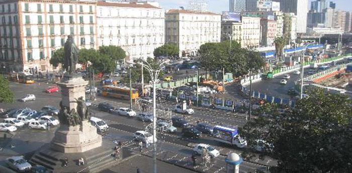 nuovo piano di traffico a piazza garibaldi