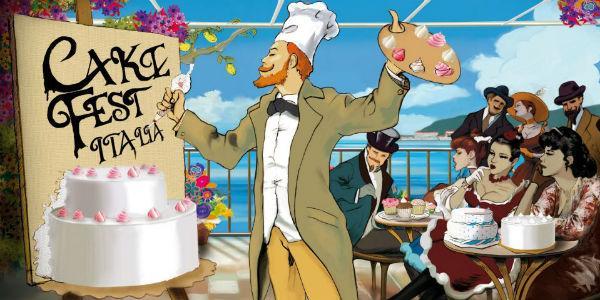 Fumetto Cake Fest Italia che raffigura l'evento