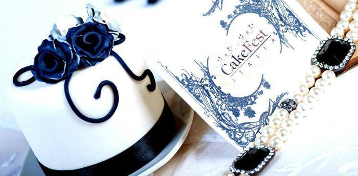 Decorazioni del Cake Fest Italia di Napoli