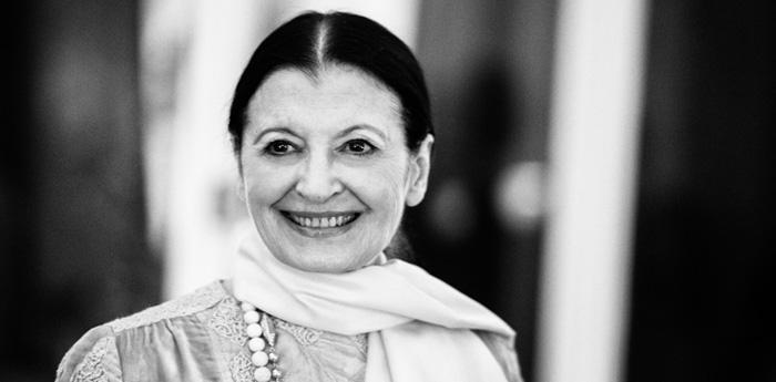 Carla Fracci ospite di Autunno Danza al Teatro San Carlo di Napoli